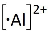 Al2+ Katyonunun Lewis Nokta Yapısı