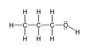 Propil Alkolün (C3H7OH) Açık Fomülü