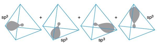 sp3 Hibrit Orbitalleri