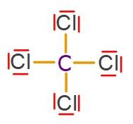 CCl4 Molekülünün Lewis Yapısı